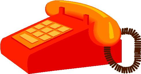 Telephone clip art 14