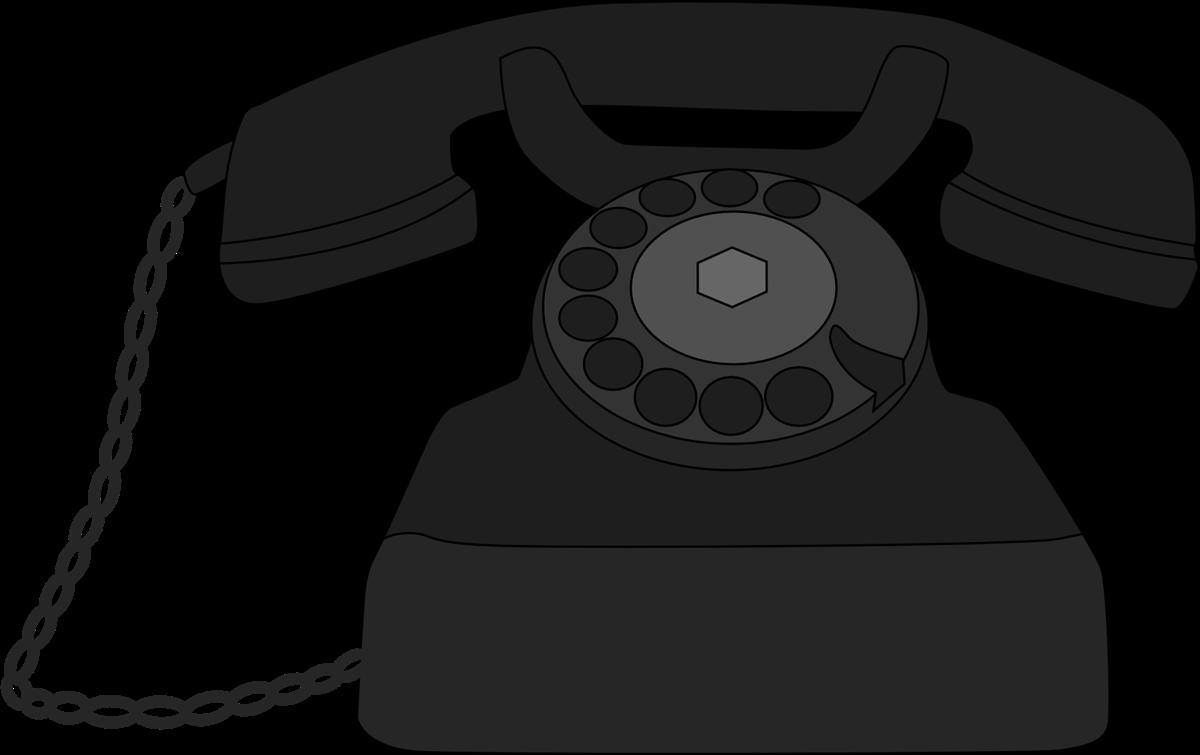 Telephone clip art  4