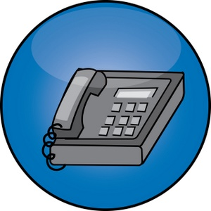 Telephone phone clip art at vector clip art free 2 image #14665
