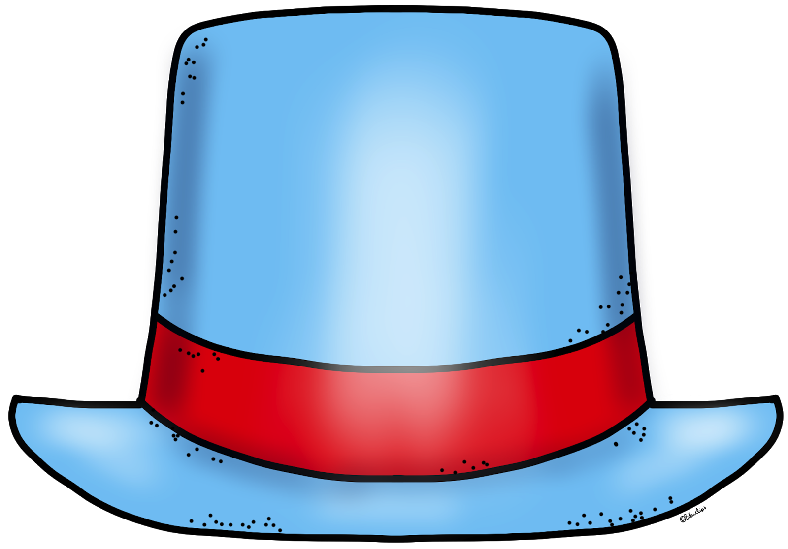 Top hat clip art free