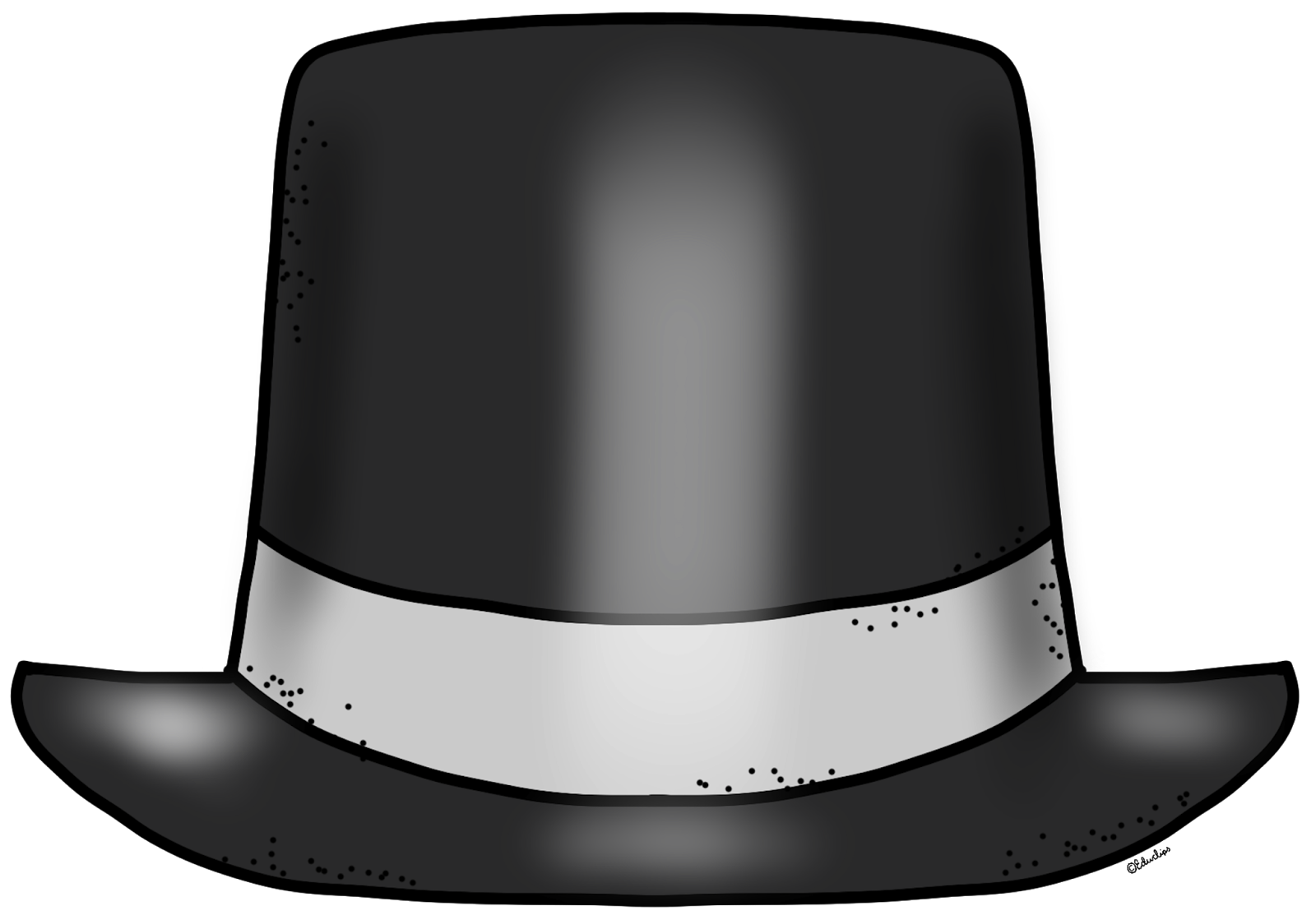 Top hat clipart clipart