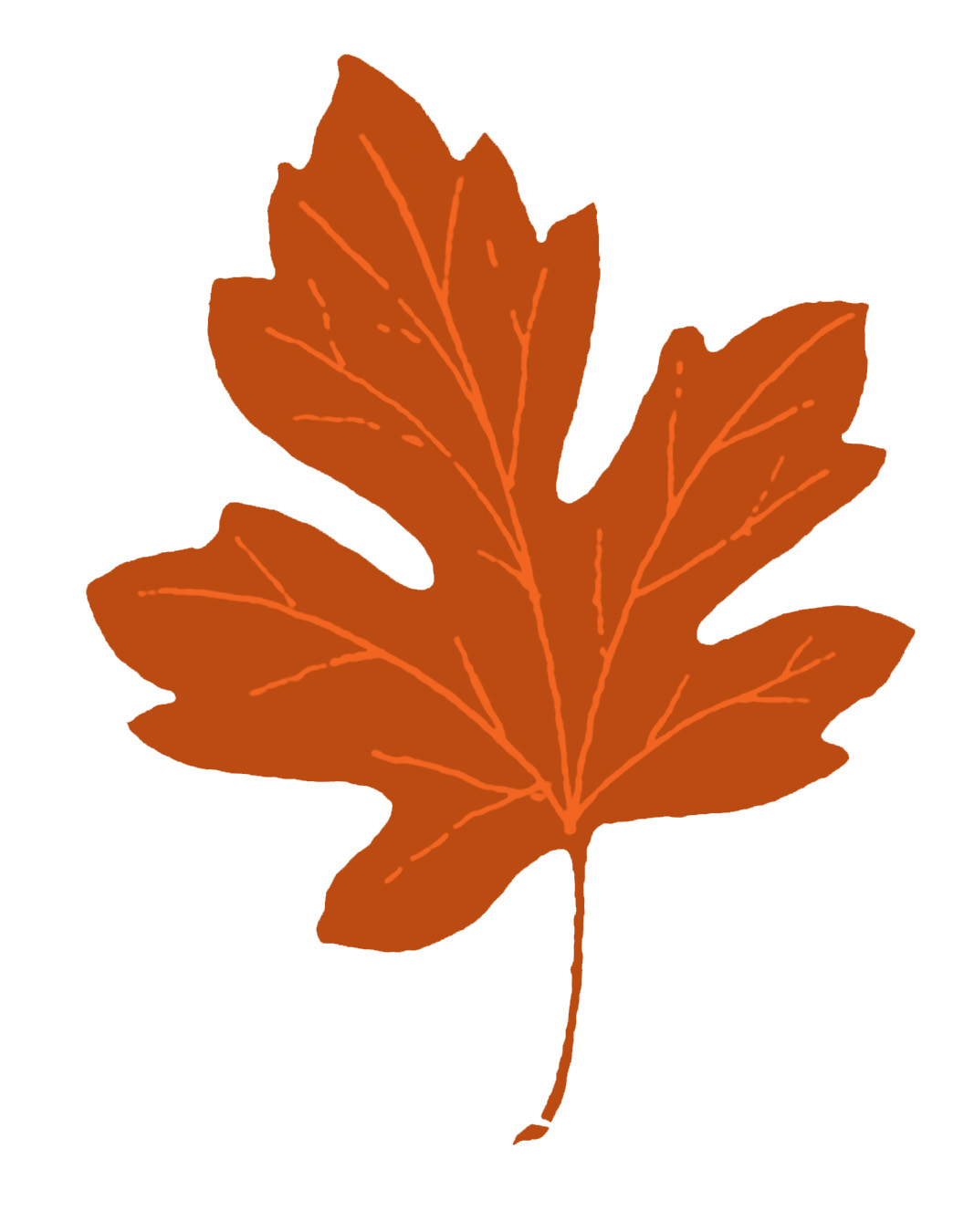 Vintage fall clip art maple leaves the graphics fairy
