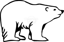Bear clipart polar bear classroom clipart