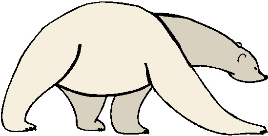 Clip art clip art polar bears 3
