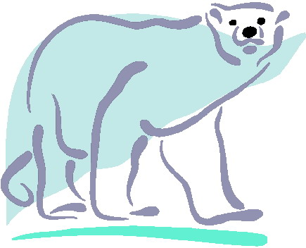 Clip art clip art polar bears