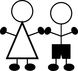 Clip art stick figure clipart