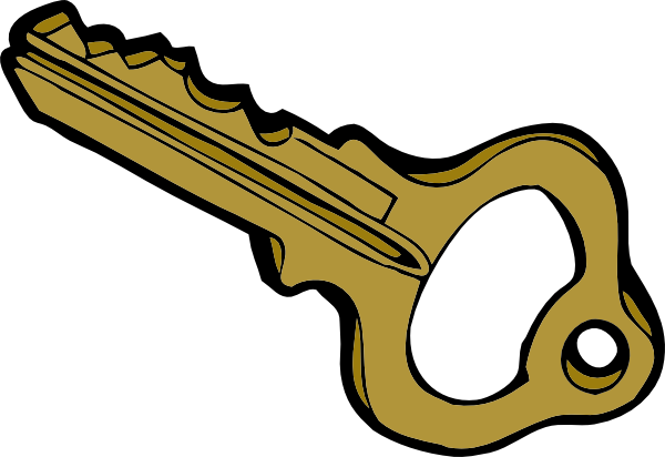 Clipart of a key clipart