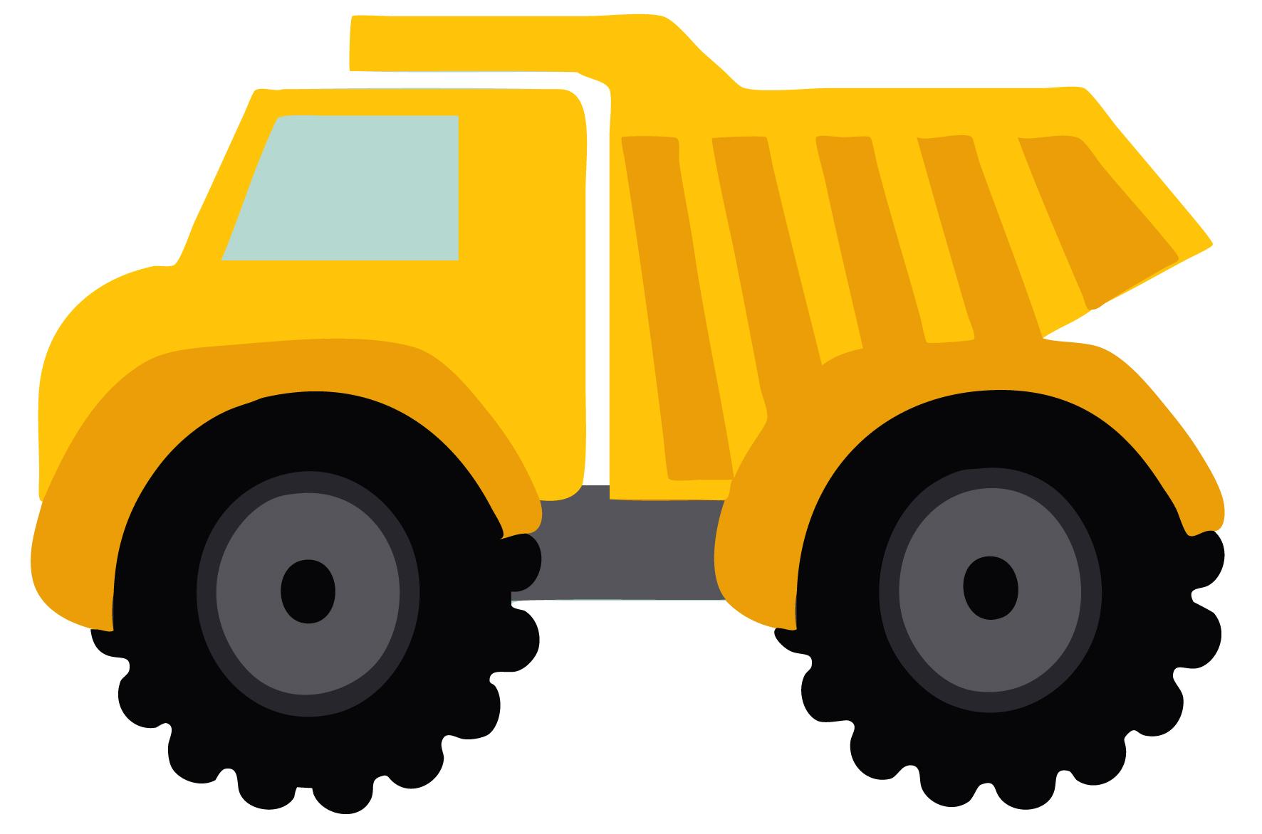 Dump truck clip art 2