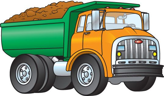 Dump truck clip art transport clipart dump