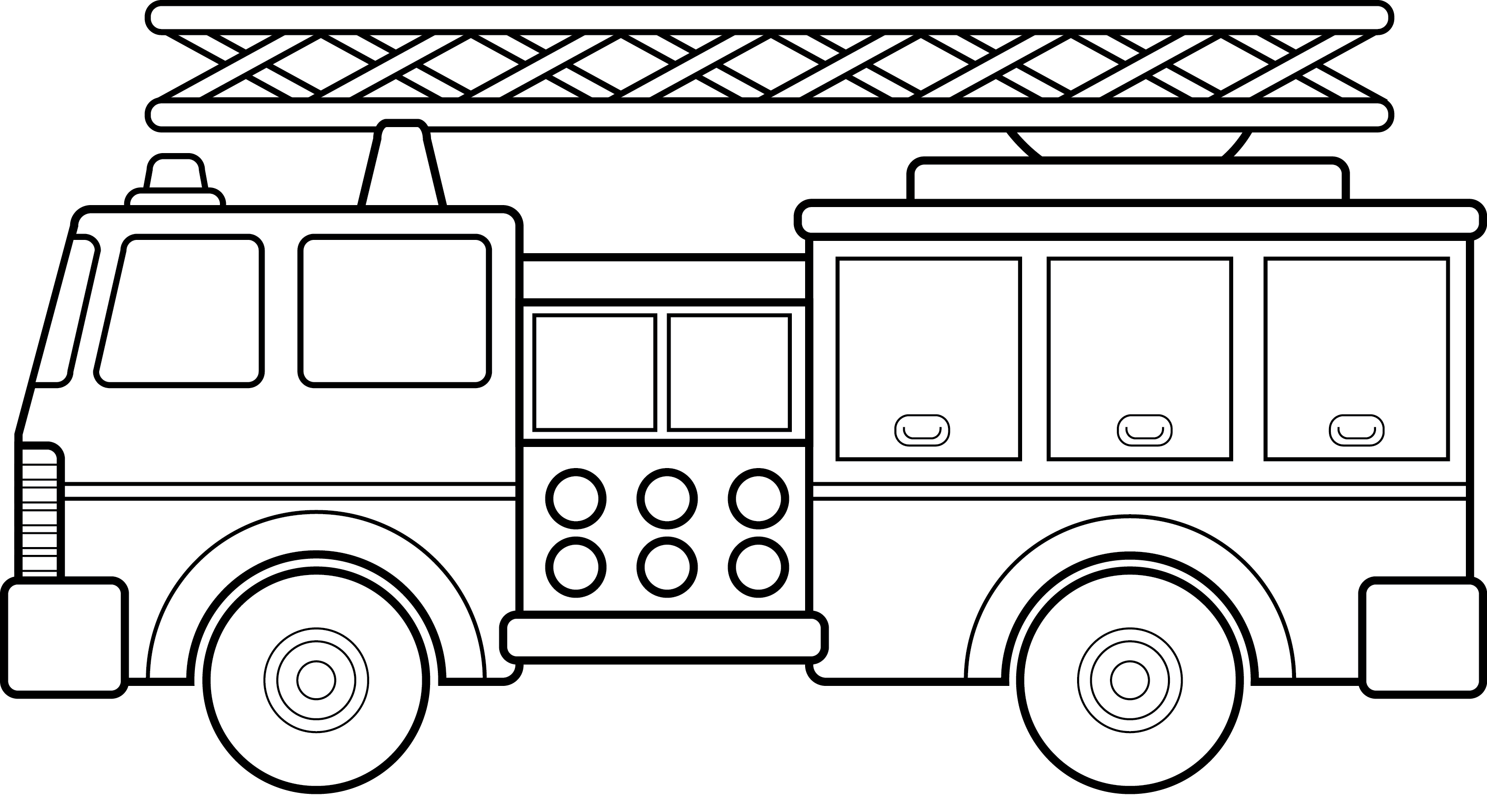 Firetruck clipart