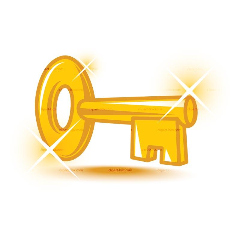 Key clip art 5