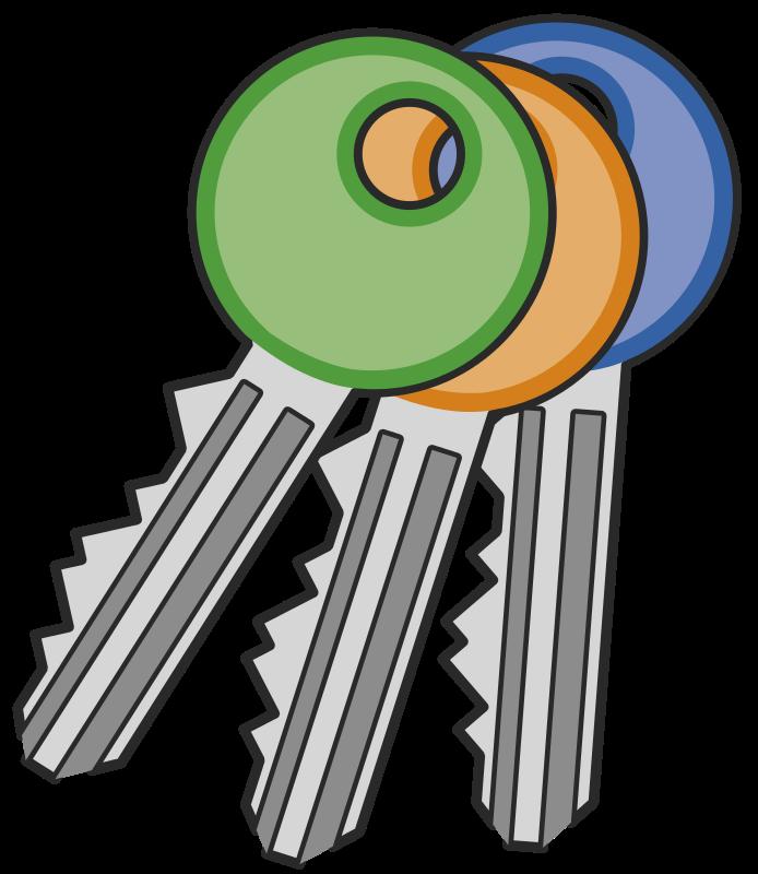 Key clip art 8