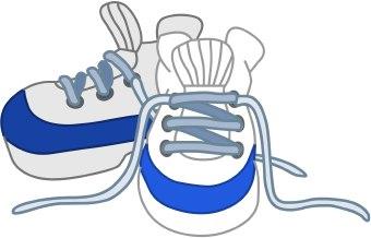 Kids shoe clip art clipart