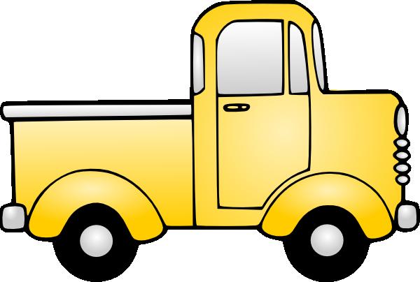 Old truck clip art at vector clip art