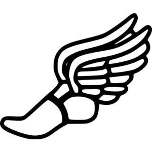 Running shoe clipart clipart 2