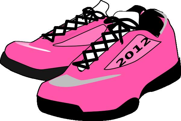Running shoes clip art at vector clip art