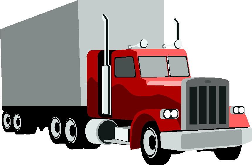 Semi truck clipart clipart