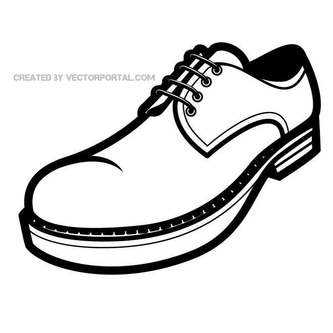 Shoe sneaker vector free clipart