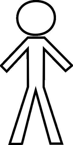 Stick figure pic clipart