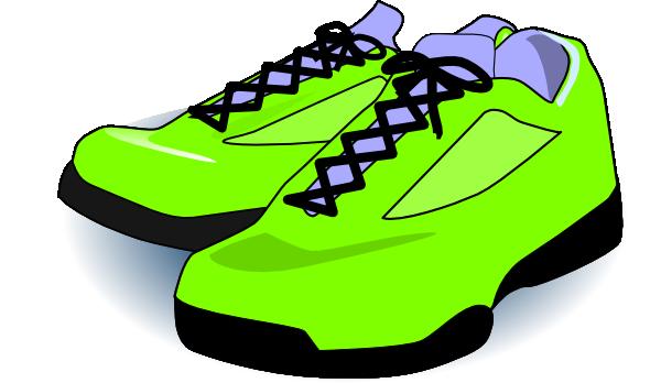 Tennish shoe clipart