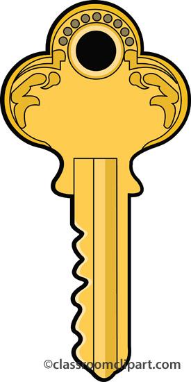 Tools single key a classroom clipart