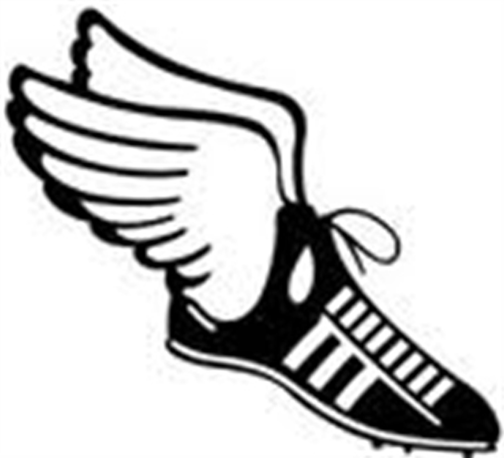 Track shoes clip art clipart
