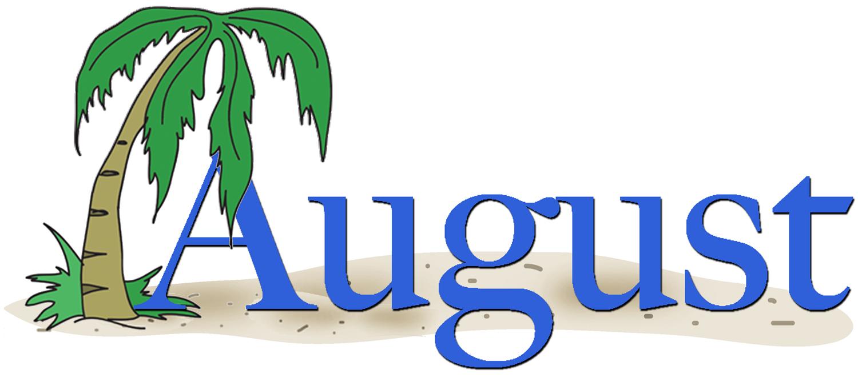 August clip art