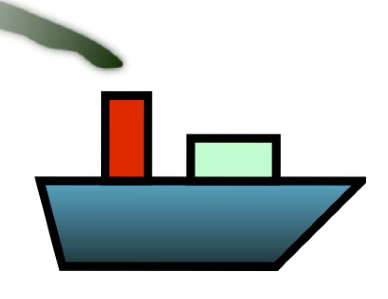Cargo ship clip art 2