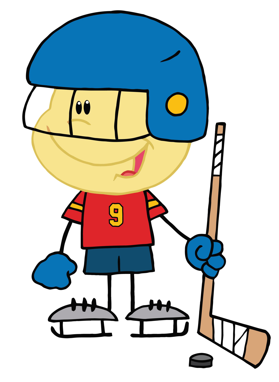 Clipart street hockey clipart 2