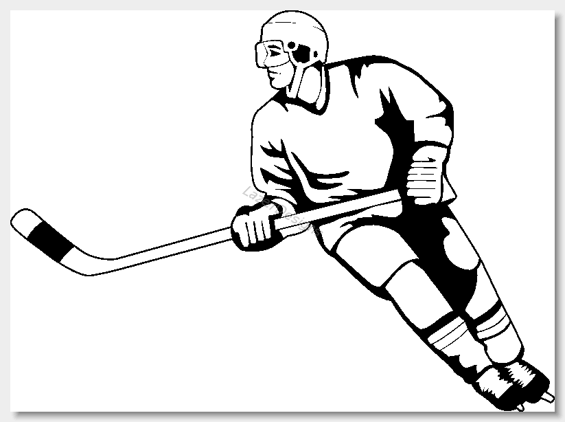 Clipart street hockey clipart