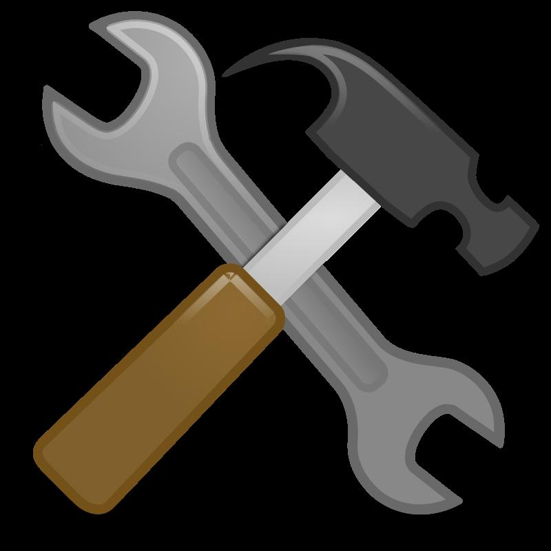 Clipart tools hammer