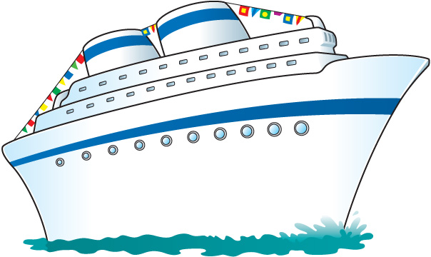Cruise ship clipart clipart