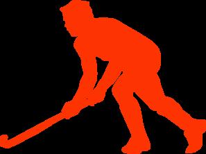 Grass hockey clip art at vector clip art