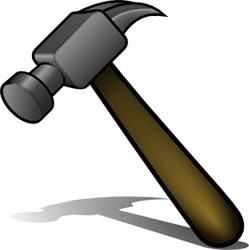 Hammer clip art 2