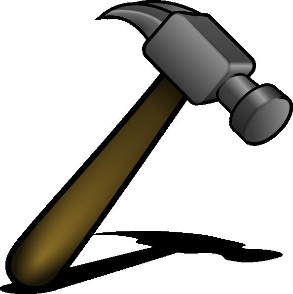 Hammer clip art at vector clip art