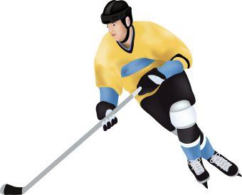 Hockey clip art free clipart 2