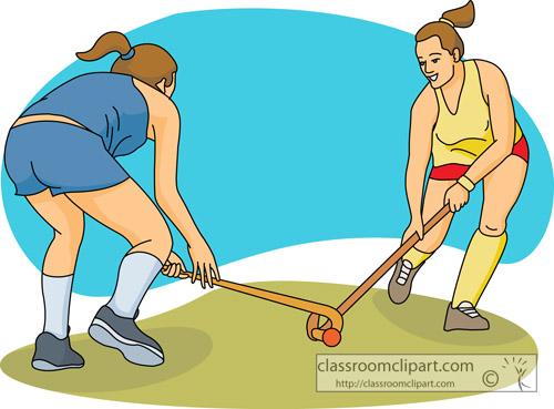 Hockey clipart field hockey sports classroom clipart