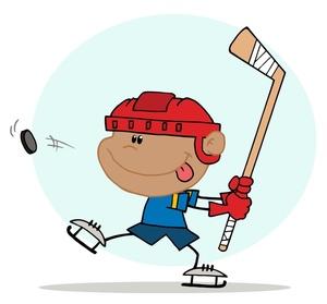 Hockey clipart free clipart