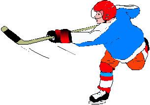 Ice hockey clip art shooter 1
