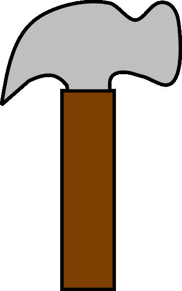 New gray hammer clip art vector clip art free
