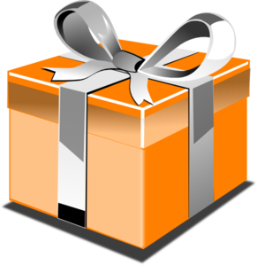 Open birthday present clipart free clipart images