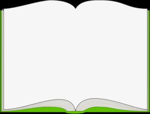 Open book clip art 2