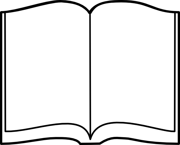Open book clip art vector clip art free