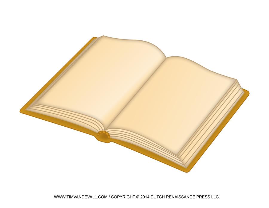 Open book clip art yellow