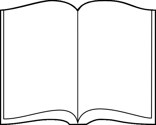 Open books clip art