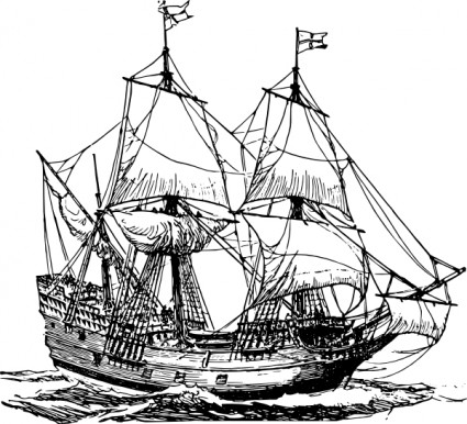 Sailing ship clip art free vector for free download about