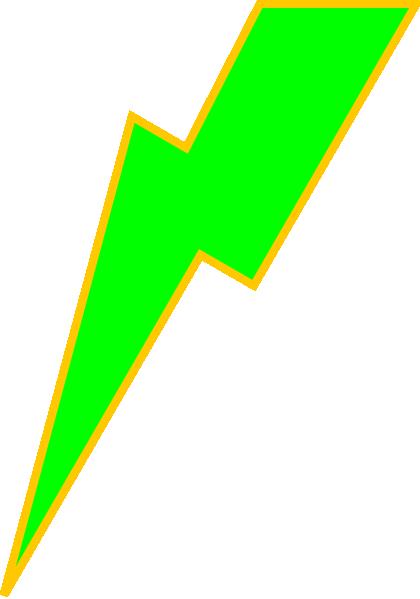Clip art lightning bolt