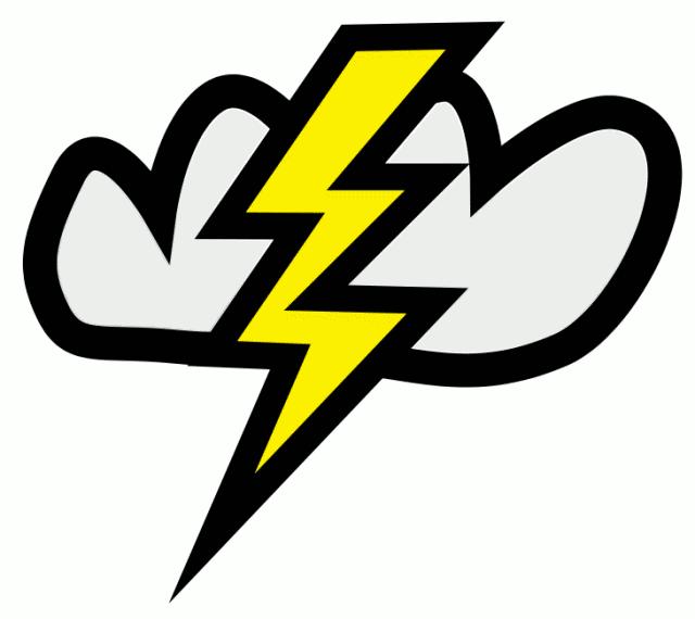 Free clip art lightning bolt clipart