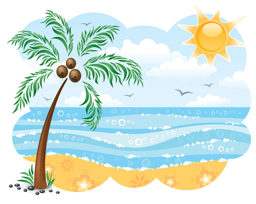 Free clipart spring break clipart
