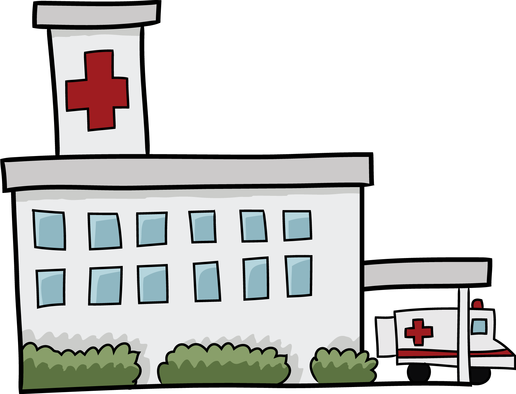 Free hospital clipart
